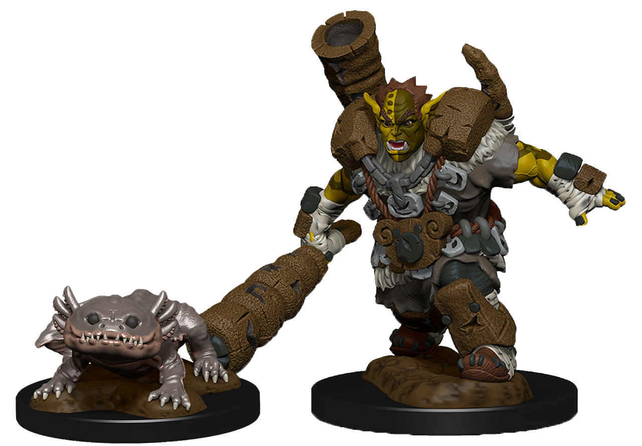 Mud Orc and Mud Puppy | Boutique FDB
