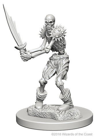 D&D Nolzur's Marvelous Unpainted Miniatures: Skeletons