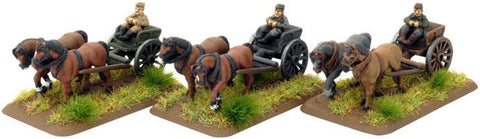 Flames of War Horse-drawn Limbers