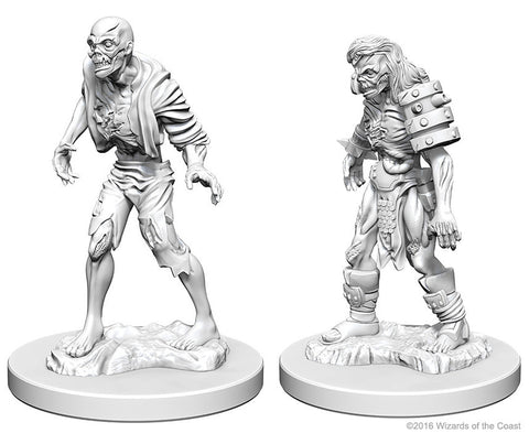 D&D Nolzur's Marvelous Unpainted Miniatures: Zombies