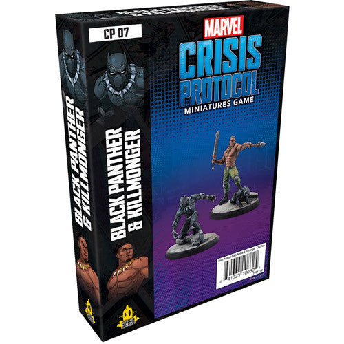 Marvel Crisis Protocol: Black Panther and Kilmonger | Boutique FDB