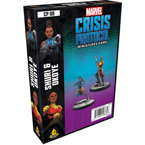 Marvel Crisis Protocol: Shuri and Okoye | Boutique FDB