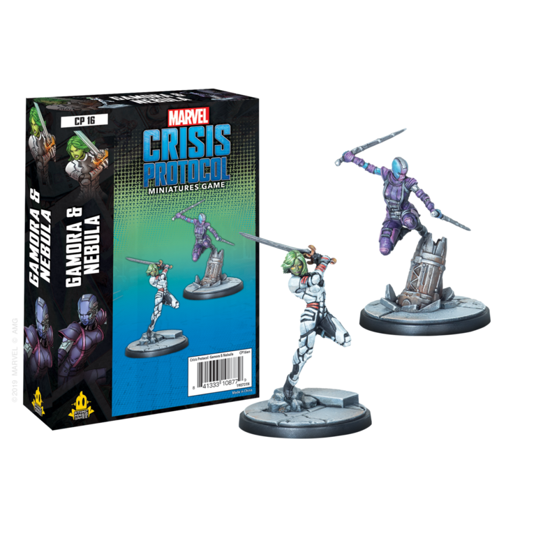 Marvel Crisis Protocol - Gamora and Nebula | Boutique FDB