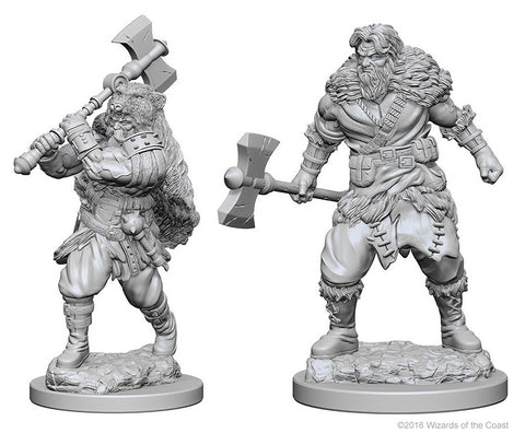 D&D Nolzur's Marvelous Unpainted Miniatures: Human Male Barbarian