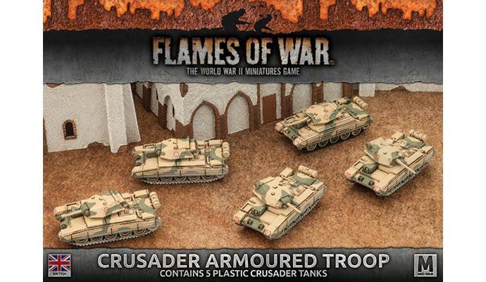 Flames of War Crusader Armoured Troop | Boutique FDB