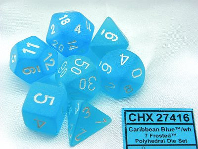 Chessex 7 dice set CHX27416