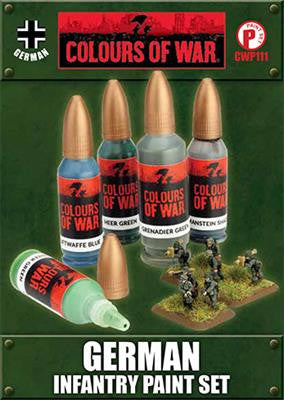 Flames Of War German infantry Paint Set | Boutique FDB