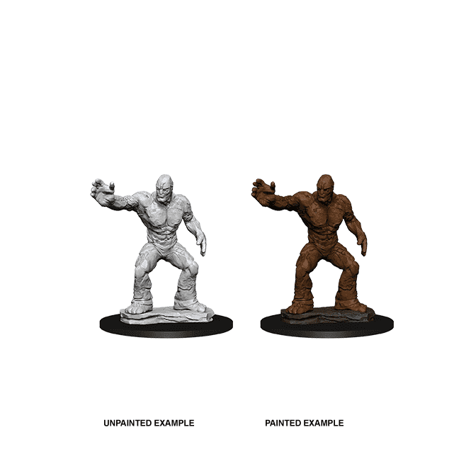 Nolzur's Marvelous Miniatures Unpainted Wave 10: Clay Golem | Boutique FDB