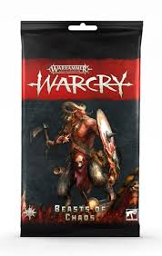 WARCRY: BEASTS OF CHAOS CARD PACK | Boutique FDB