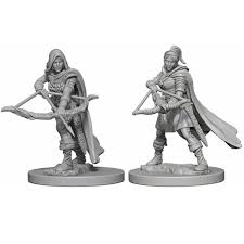D&D Nolzur's Marvelous Unpainted Miniatures: Human Female Ranger | Boutique FDB