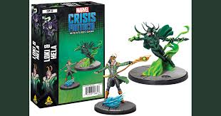 Marvel Crisis Protocol: Loki and Hela | Boutique FDB