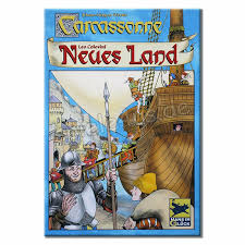 Carcassonne Neues Land Spiel kaufen (german) includes English rules