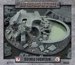 Battlefield in a box Gothic Ruined Fountain | Boutique FDB