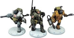 Dust Tactics Heavy Rangers Command Squad