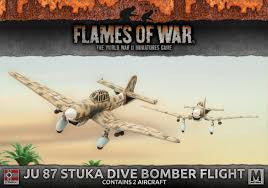 Flames of War JU 87 stuka dive bomber flight | Boutique FDB
