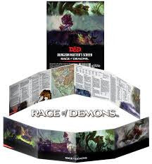 D&D: RAGE OF DEMONS DM SCREEN