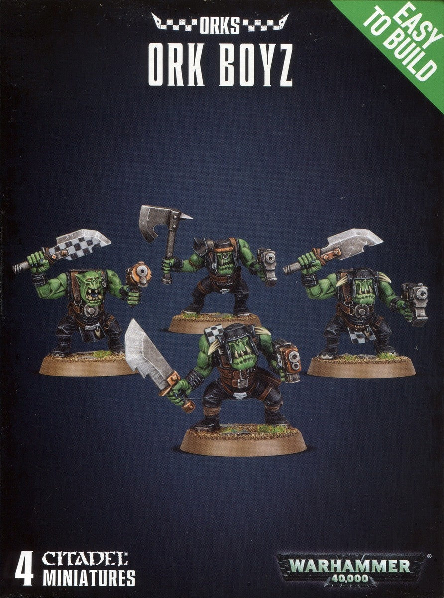 Easy to build Ork Boyz | Boutique FDB
