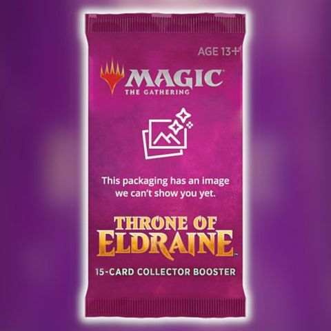 Magic Throne of Eldraine Collectors Booster pack | Boutique FDB