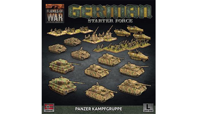 German Starter Force Panzer Kampfgruppe | Boutique FDB