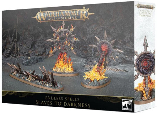 Warhammer age of sigmar Endless Spells: Slaves to Darkness | Boutique FDB