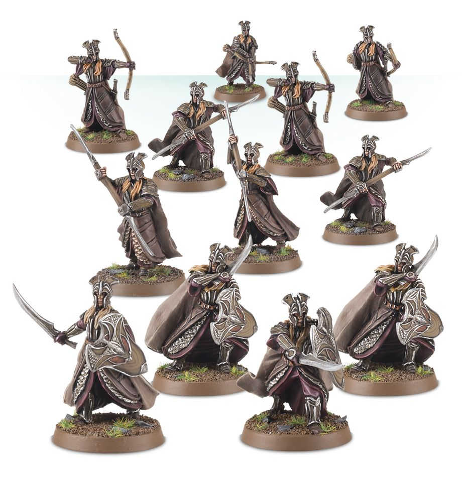 Mirkwood Armoured elves warband | Boutique FDB