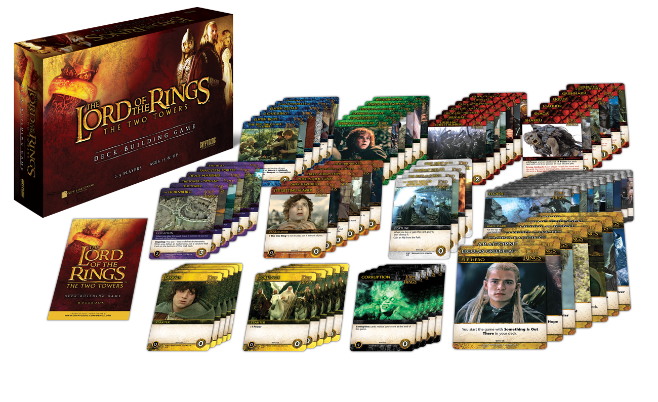 Lord of the Rings The two towers Deck-Building Game | Boutique FDB