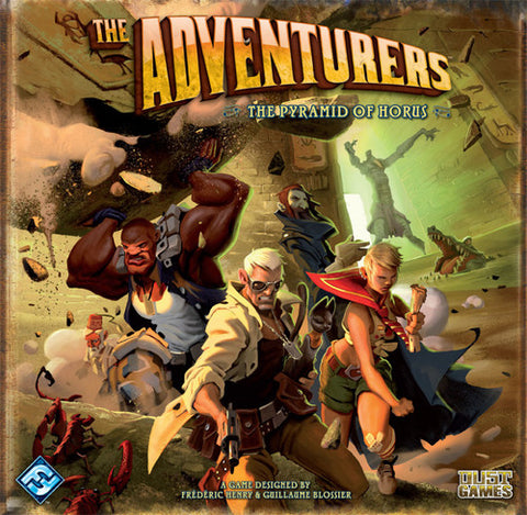 The Adventurers The Pyramid Of Horus