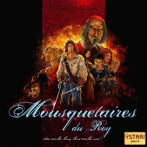 Mousquetaires du Roy (French)|Mousquetaires du Roy (Français) | Boutique FDB