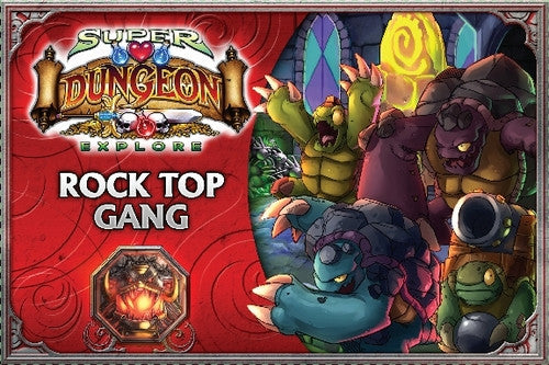 Super Dungeon Explore Rock Top Gang | Boutique FDB