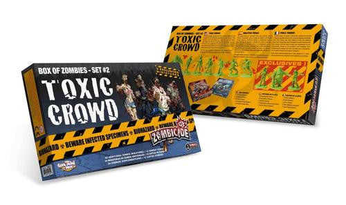 Zombicide Box of Zombies Set #2: Toxic Crowd | Boutique FDB