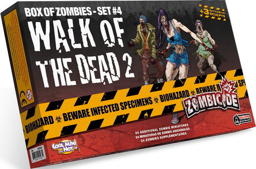 Zombicide Box of Zombies Set #4: Walk of the Dead 2 | Boutique FDB