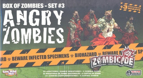 Zombicide Box of Zombies Set #3: Angry Zombies | Boutique FDB