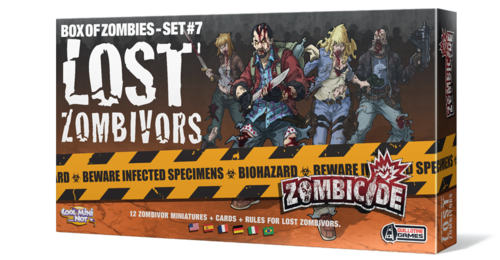 Zombicide Box of Zombies Set #7: Lost Zombivors | Boutique FDB