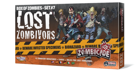 Zombicide Box of Zombies Set #7: Lost Zombivors
