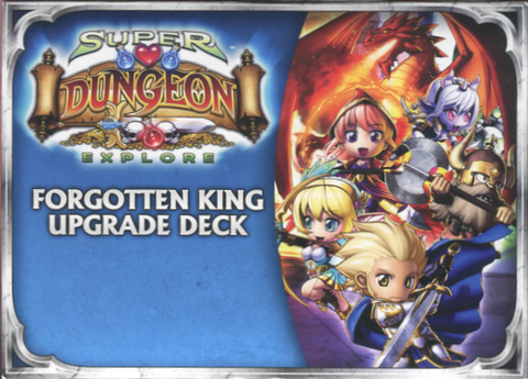 Super Dungeon Explore Forgotten King upgrade deck