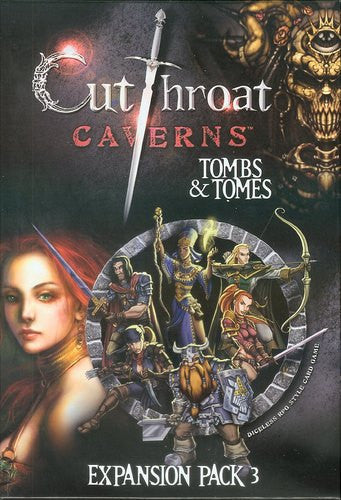 Cutthroat Caverns - Tombs & Tomes Expansion pack 3 | Boutique FDB