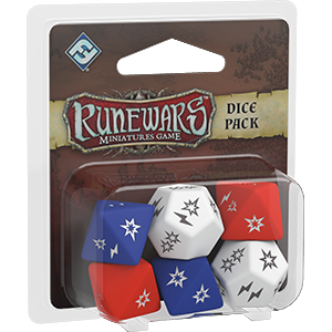 Runewars Miniatures Game Dice Pack | Boutique FDB