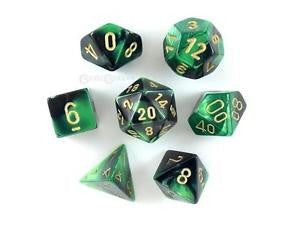 Chessex 7 dice set chx26439 | Boutique FDB