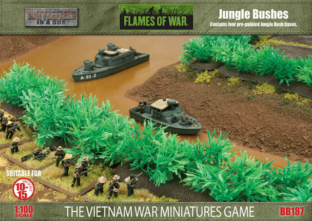 Battlefield in a Box Jungle Bushes | Boutique FDB