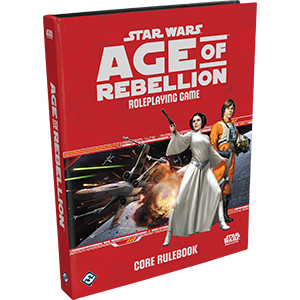 Star Wars: Age of Rebellion Core Rulebook | Boutique FDB