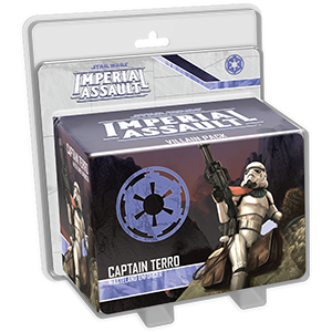 Imperial Assault: Captain Terro Villain Pack