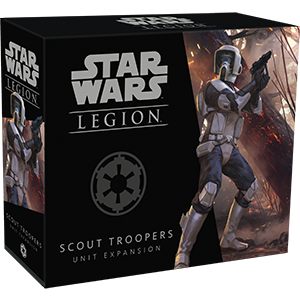 Star Wars Legion: Scout Troopers Unit Expansion | Boutique FDB