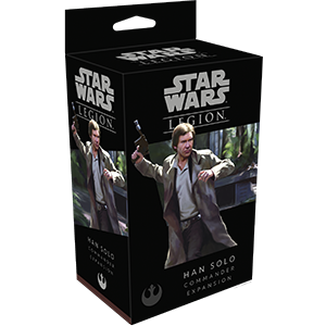 Star Wars Legion : Han Solo Commander Expansion | Boutique FDB