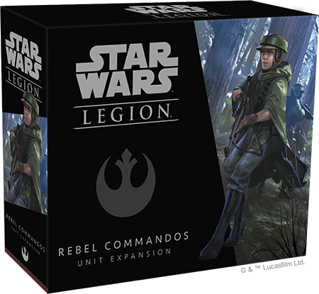 Star Wars Legion : Rebel Commandos Unit Expansion | Boutique FDB