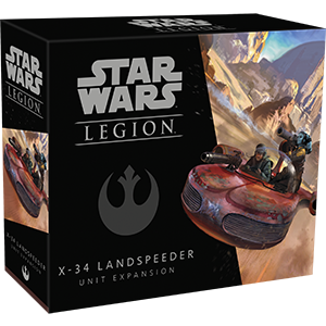 Star Wars Legion: X-34 Landspeeder Unit Expansion | Boutique FDB