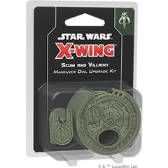 X-Wing 2.0 Rebel Scum and Villainy Maneuver Dial Upgrade Kit