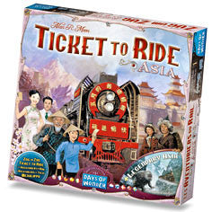 Ticket To Ride Asia expension | Boutique FDB