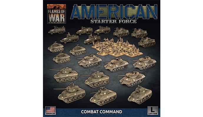 American Starter Force Combat Command | Boutique FDB