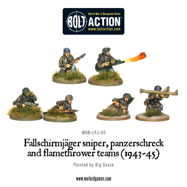Fallschirmjager Army (Metal 1000pts) | Boutique FDB