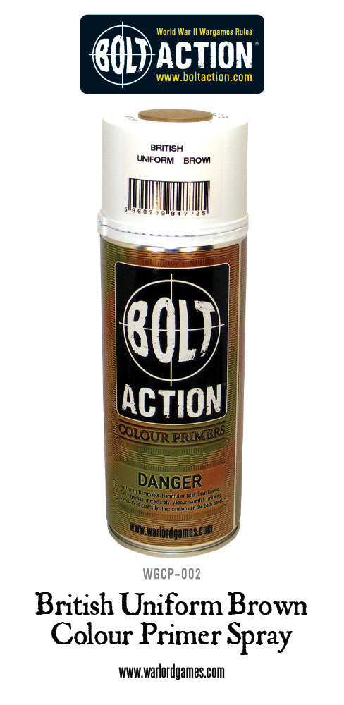 Bolt action Spray primer British uniform brown | Boutique FDB